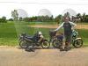 Mark and motorbikes Vietnam